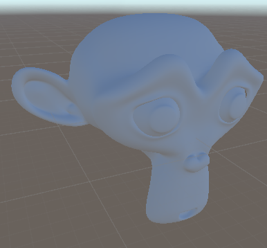 A model with only global illumination