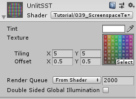 Screenspace Textures
